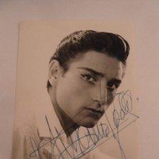 Autografi di Musica : INTERESANTE FOTO ORIGINAL ANTIGUA DE ANTONIO GADES CON AUTOGRAFO ORIGINAL. Lote 111607367