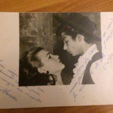 Autografi di Musica : AUTÓGRAFO MERCEDES Y VARGAS. Lote 115135747