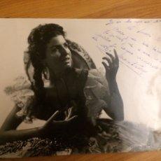 Autographes de Musique : AUTÓGRAFO M. MONTERREY. Lote 115135998