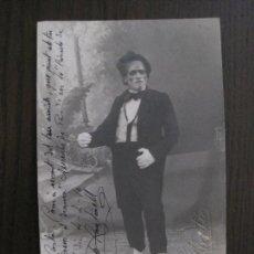Autógrafos de Música : POSTAL AUTOGRAFO ACTOR TEATRO JOSEPH PANTARELL - VER FOTOS - (52.355). Lote 116107091