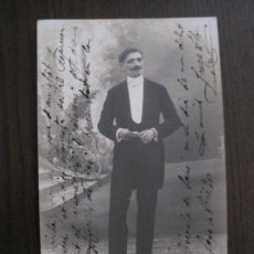 Autógrafos de Música : POSTAL AUTOGRAFO ACTOR TEATRO JOSEP ABO - VER FOTOS - (52.357). Lote 116107299