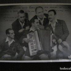Autógrafos de Música : FOTOGRAFIA AUTOGRAFO -LOS XEY - VER FOTOS - (V-13.916). Lote 116109195