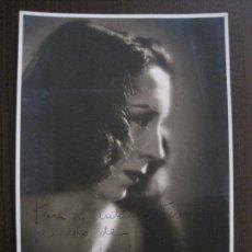 Autógrafos de Música : FOTOGRAFIA AUTOGRAFO - MARIA ARIAS - VER FOTOS - (V-13.918). Lote 116110019