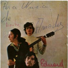 Autógrafos de Música : FALSTERBO 3 - POSTAL AUTOGRAFIADA - ALS 4 VENTS / BARLOVENTO 1969. Lote 117739063