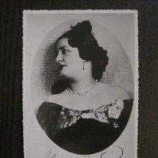 Autógrafos de Música : MERCEDES CAPSIR - AÑO 1935 - FOTOGRAFIA CON AUTOGRAFO ORIGINAL - VER FOTOS -(V-14.376). Lote 119478587