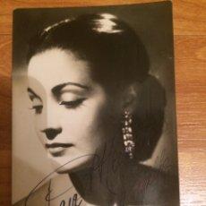 Autographes de Musique : AUTÓGRAFO CARMEN SEVILLA. Lote 120690504