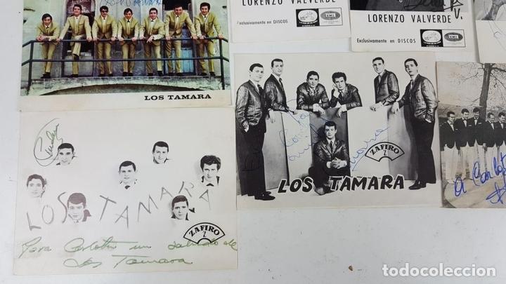Autógrafos de Música : COLECCION DE 33 TARGETAS DE ARTISTAS AUTOGRAFIADAS. CIRCA 1960. - Foto 9 - 122060447