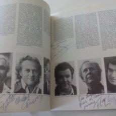 Autógrafos de Música : LIBRETO DE OPERA + 11 AUTOGRAFOS JEFFREY TATE, MARIA EWING, PATRICIA KERN, MARIJKE HENDRIKS, RADEK. Lote 124765183