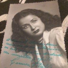 Autografi di Musica : AUTÓGRAFO CARMEN ESTRELLA. Lote 130360908