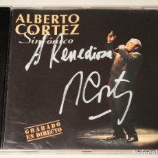 Autógrafos de Música : CD ALBERTO CORTEZ. -SINFÓNICO-. CON AUTÓGRAFO. . Lote 132560234