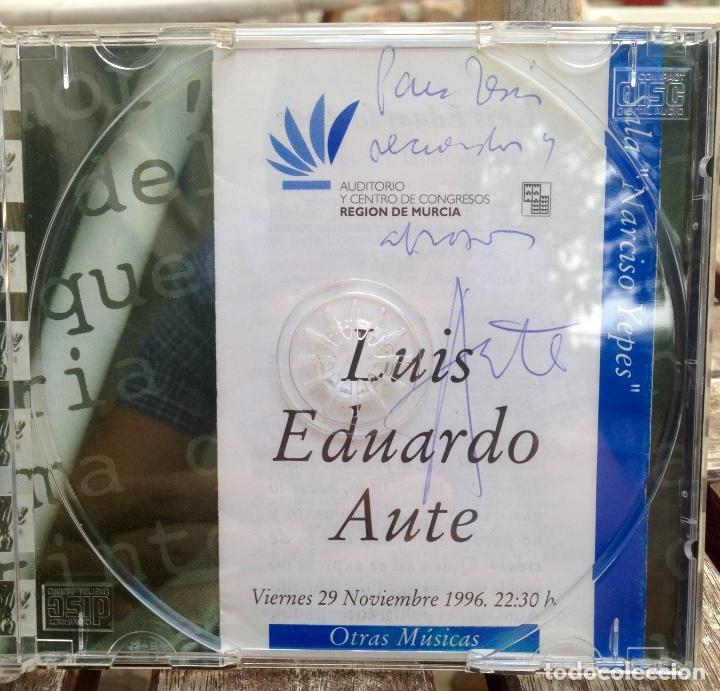 AUTOGRAFO AUTE - CD ALEVOSÍA (Música - Autógrafos de Cantantes )