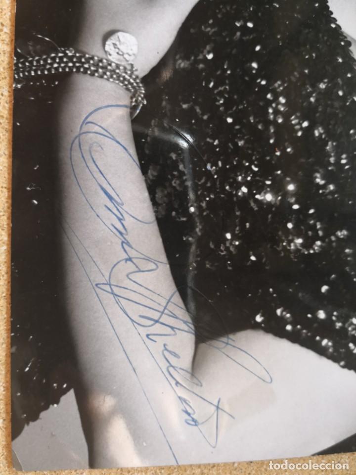 Autógrafos de Música : Fotografía de Anne Shelton para Gordon. Firmada autógrafo. Medida 25x19. Associated rediffusion ltd - Foto 2 - 136003078