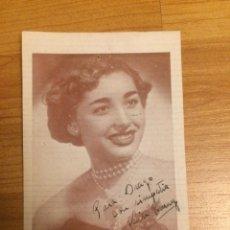 Autographes de Musique : AUTÓGRAFO LISA RONNY. Lote 136310614