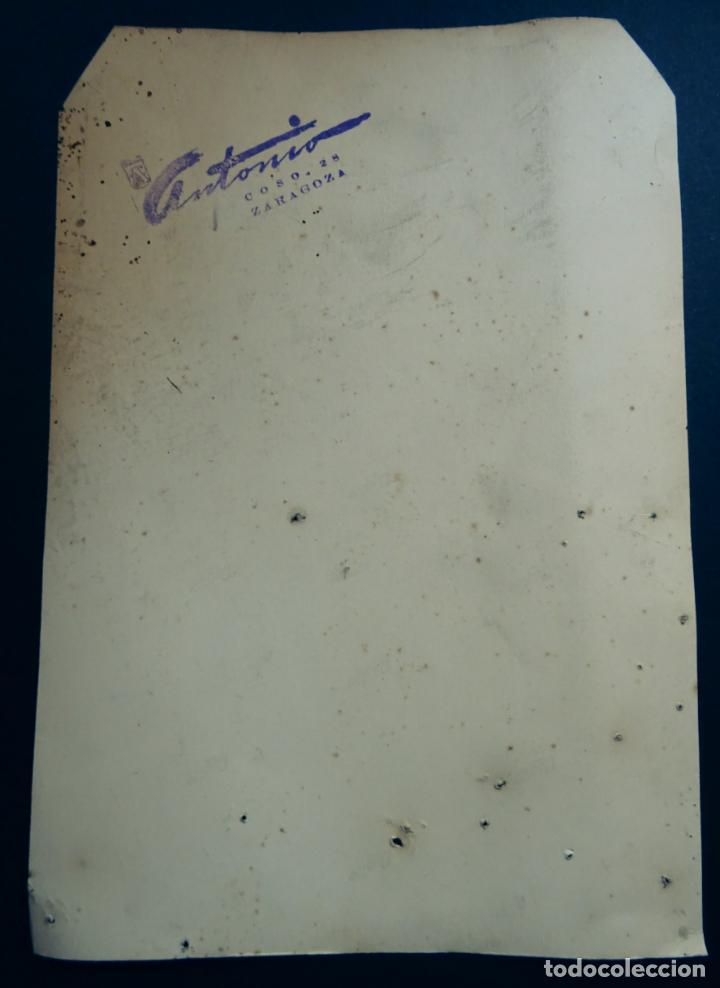 Autógrafos de Música : Antonio Amaya, fotografia con dedicatoria y autografo. Tamaño 16 x 23 cm. - Foto 2 - 137823250