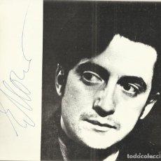 Autógrafos de Música : AUTÓGRAFO FIRMA PIANISTA YEVGUENI MOGUILEWSKY. TEATRO REAL 1978 VIII CICLO DE GRANDES INTERPRETES.. Lote 139457914