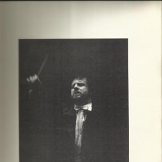 Autógrafos de Música : AUTÓGRAFO FIRMA PIERO GAMBA Y FRANÇOIS DUCABLE. PROGRAMA TEATRO REAL. MADRID. 1976. PORTADA GYENES.. Lote 139667542