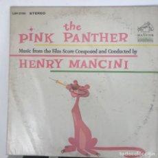 Autógrafos de Música : BANDA SONORA DE LA PANTERA ROSA FIRMADA A MANO POR HENRY MANCINI 1963. Lote 140096274