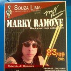 Autógrafos de Música : MARKY RAMONE AUTOGRAFO. Lote 142487374