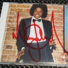 Autógrafos de Música : MICHAEL JACKSON - CD - OFF THE WALL - FIRMADO, AUTÓGRAFO. Lote 147331326