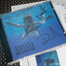 Autógrafos de Música : NIRVANA - CD FIRMADO - AUTOGRAFOS (KOBAIN, GROH, NOVOSELIC). Lote 147550314
