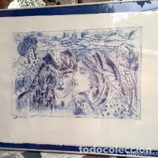 Autógrafos de Música : DIBUJO DE MANOLO GARCIA. Lote 147566126
