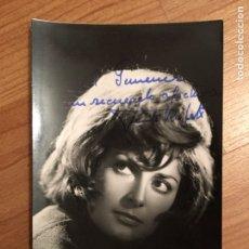 Autografi di Musica : AUTÓGRAFO JUANITA RUFELT. Lote 150287084