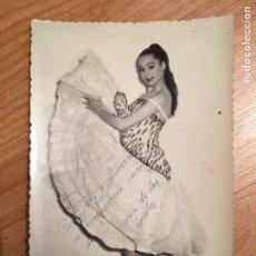 Autografi di Musica : AUTÓGRAFO MARIA DE LOS ANGELES. Lote 150287601