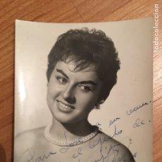 Autographes de Musique : AUTÓGRAFO MARUJITA RUIZ ?. Lote 150288248