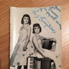 Autographes de Musique : AUTÓGRAFO LES JOSEPHINES. Lote 150289014