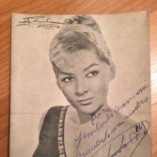 Autografi di Musica : AUTÓGRAFO YOLANDA REY. Lote 150289096