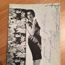 Autografi di Musica : AUTÓGRAFO MARY LLEDO. Lote 150289752