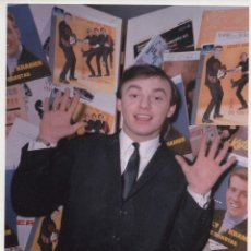 Autógrafos de Música : GERRY MARDSEN AUTOGRAFO AUTOGRAPH HAND SIGNED 11X15 FOTO PHOTO GERRY & THE PACEMAKERS BEATLES FIRMA. Lote 150752613