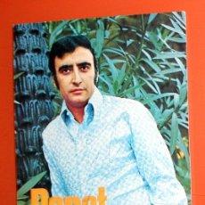 Autógrafos de Música : FOTO PUBLICITARIA DISCOS VERGARA - FIRMADA A MANO POR PERET - RUMBA CATALANA - AUTOGRAFO ORIGINAL. Lote 155619554