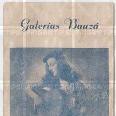 Autógrafos de Música : RENATA Y GRACIANO TARRAGO : INVITACION CONCIERTO MALLORCA 1951 CON FIRMAS Y DEDICATORIA. Lote 155672630