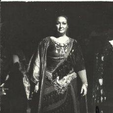 Autógrafos de Música : MONTSERRAT CABALLÉ. FOTOGRAFÍA CON AUTÓGRAFO, FIRMA. 1976. AIDA. ALLA SCALA. MILANO. MILÁN.. Lote 158705374