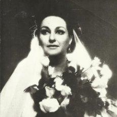 Autógrafos de Música : MONTSERRAT CABALLÉ. FOTOGRAFÍA CON AUTÓGRAFO, FIRMA Y DEDICADA. 1974. VESPRI SICILIANI. NEW YORK.. Lote 158735486