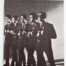 Autógrafos de Música : TARJETA POSTAL LOS IMPALA CON AUTÓGRAFO DE LOS 5 COMPONENTES - AÑO 1966. Lote 159776146
