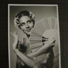 Autografi di Musica : ANTOÑITA BARRERA-AUTOGRAFO-FOTOGRAFIA FIRMADA-VER FOTOS-(V-17.133). Lote 165544346