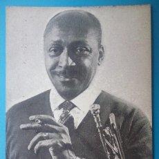 Autografi di Musica : JAZZ BILL COLEMAN RON JEFFERSON POSTAL AUTÓGRAFO JAMBOREE BARCELONA CIRCA 1960. Lote 168353568