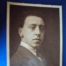 Autógrafos de Música : (FOT-190601)FOTOGRAFIA DEDICADA DEL PIANISTA ARTHUR RUBINSTEIN A GASPAR CASSADÓ I MOREU. Lote 168922476