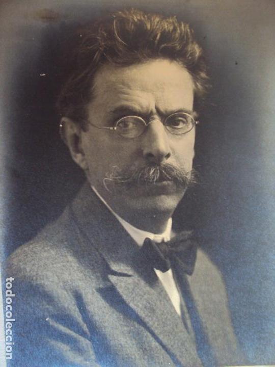 Autógrafos de Música : (FOT-190602)FOTOGRAFIA DEDICADA DEL COMPOSITOR ENRIC MORERA A GASPAR CASSADO I MOREU - Foto 2 - 168923456