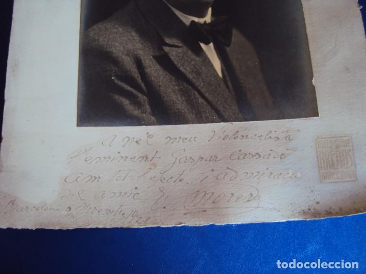 Autógrafos de Música : (FOT-190602)FOTOGRAFIA DEDICADA DEL COMPOSITOR ENRIC MORERA A GASPAR CASSADO I MOREU - Foto 3 - 168923456