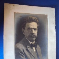 Autógrafos de Música : (FOT-190602)FOTOGRAFIA DEDICADA DEL COMPOSITOR ENRIC MORERA A GASPAR CASSADO I MOREU. Lote 168923456