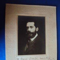 Autógrafos de Música : (FOT-190605)FOTOGRAFIA DEDICADA DEL COMPOSITOR ENRIQUE FERNÁNDEZ ARBÓS A GASPAR CASSADÓ I MOREU. Lote 168935664