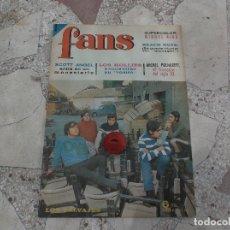 Autógrafos de Música: FANS Nº 80, 1966 POSTER MIGUEL RIOS,LOS HOLLIES,MICHEL POLNAREFF, THE BEACH BOYS,LOS SALVAJES. Lote 171407662