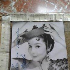 Autografi di Musica : FOTOGRAFIA CON FIRMA MARIFE DE TRIANA - FIRMADA - AUTOGRAFO. Lote 173587898