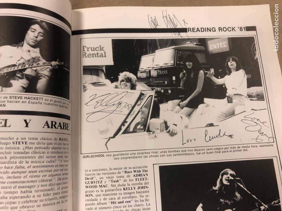 Autógrafos de Música : POPULAR 1 ESPECIAL READING ROCK '81. CON AUTÓGRAFOS ORIGINALES DE GIRLSCHOOL, THE KINKS - Foto 3 - 175143710
