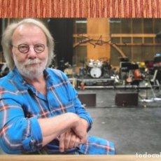 Autógrafos de Música : BENNY ANDERSON.ABBA.AUTÓGRAFO ORIGINAL.MÚSICA.CANTANTES.CERTIFICADO AUTENTICIDAD. Lote 175278715