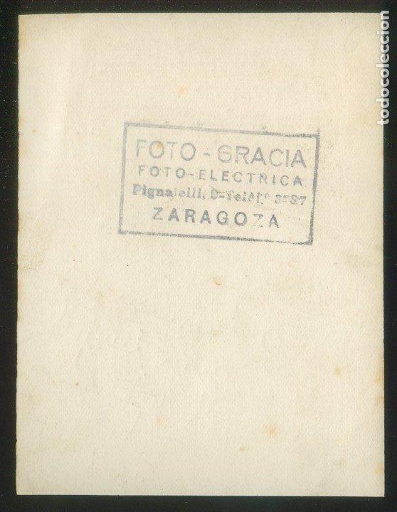 Autógrafos de Música : Autógrafo *Antonio Machín* Foto *Foto-Gracia, Zaragoza* Meds: 83x108 mms. Año 1949. - Foto 2 - 175545245