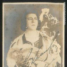 Autógrafos de Música : AUTÓGRAFO *FRITZ KRAUSS. 1883-1976* FOTO HOLDT. FECHA: BARCELONA 1928.. Lote 175592990